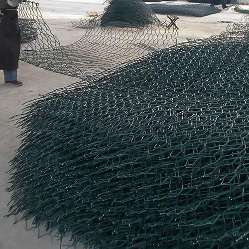 矽胶包塑石笼网